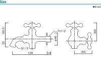 立水栓用蛇口/プレーンフォーセット