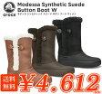crocs【クロックス レディース】 modessa button boot/モデッサ シンセティックスエード ボタン ブーツ ウィメン