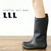 ノベルティcrocs【クロックス レディース】rainfloe tall boot/レインフロー トール ブーツ ウィメン