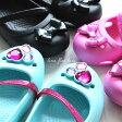 crocs【クロックス】lina flat kids/リナ フラット キッズ