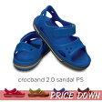 【クロックス crocs 】 crocband2.0 sandal ps/クロックバンド2.0 サンダル