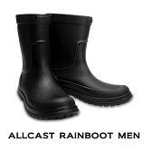 【クロックス crocs 】 allcast rainn bootmen/オールキャスト レインブーツ メン