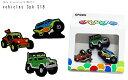 【クロックス jibbitz ジビッツ】vehicles 3pk S18/乗り物 働く車の商品画像