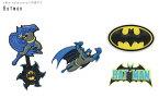 【クロックス jibbitz ジビッツ】Batman /バットマン