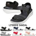 【クロックス crocs レディース】literide sandal/ライトライド サンダル
