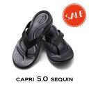 【クロックス crocs レディース】capri5.0 sequin/カプリ5.0 シークイン ウィメン