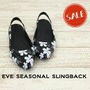 ●【クロックス crocs レディース】eve seasonal slingback w/イヴ シーズナル スリングバック ウィメン