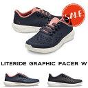 【クロックス crocs レディース】literide graphic pacer w/ライトライド グラフィック ペイサー ウィメン