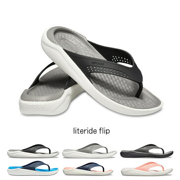 【クロックス crocs 】literide flip/ライトライド フリップ/メンズ レディース
