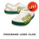 ●【クロックス crocs メンズ レディース】crocband logo clog/クロックバンド ロゴ クロッグの商品画像