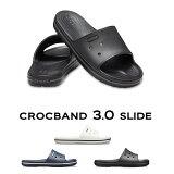【クロックス crocs メンズ レディース】crocband 3.0 slide/クロックバンド3.0 スライド