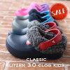 【クロックス crocs キッズ ボア】Classic Blitzen3.0 Clog Kids / クラシック ブ...