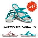 【クロックス crocs レディース】swiftwater sandal/スウィフトウォーター サンダル ウィメンの商品画像