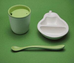 日本製 マストロ・ジェッペット PERA 2tone(ペーラ ツートーン) 離乳食用食器セット! 食器セット ベビー 用品 ギフト 離乳食 食事 送料無料