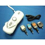 充電対応ラジオ付き手回し充電LED懐中電灯【ミニプチ】携帯電話充電対応