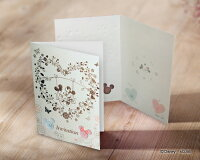 Disney/ディズニー結婚式招待状ミッキーミニーPosh/ポッシュ10枚セット
