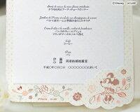 Disney/ディズニー結婚式席札ネームプレートミッキーミニーPosh/ポッシュ12名セット
