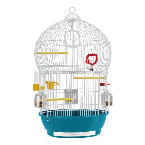 イタリアferplast社製鳥かご バリ ホワイト