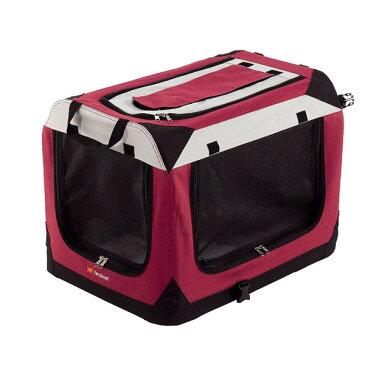 送料無料 イタリアferplast社製 ホリデイ 4 犬 猫 折りたたみ テント ハウス ソフトクレート 小型犬 中型犬