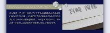 ※11月末迄限定特価※ビジュー席札手作りセット(10部セット)/結婚式席札