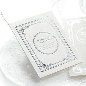 招待状 手作りセット「ヴェリテ」 / 結婚式 招待状 手作りキット パーティー 封筒 返信はがき