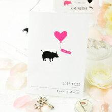 Simple line-Anniversaryシリーズ ピッグ