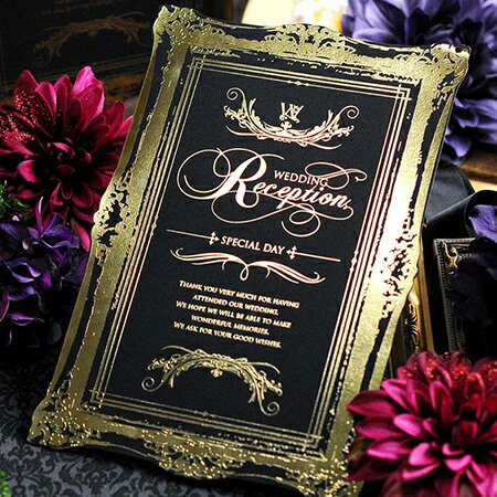 【お急ぎ出荷可能!】席次表手作りセット「ル・クロエ」/結婚式