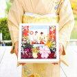和装写真にピッタリ感謝ボード(スクエア)「茜」/結婚式/両親へのプレゼント