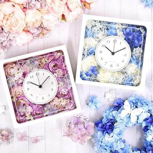 「エリーナ」花時計 結婚式ご両親へのプレゼント・フラワークロック