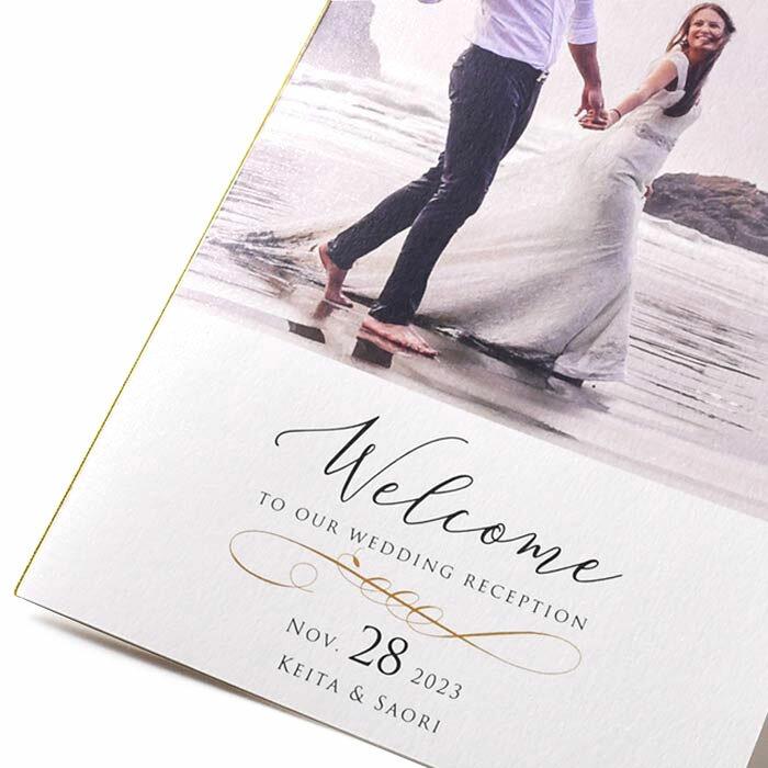 写真で魅せるプロフィールブック(席次表付)Melindaメリンダ/結婚式