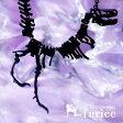 T.rex(ティラノサウルス・レックス)モチーフ ジュラシック・化石風スケルトンデザイン マットブラックカラー メンズ ネックレス