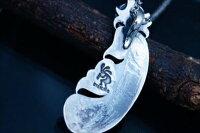 インディアンジュエリーメディスンホイール天然石ターコイズフェザー羽水波レインクラウド雨雲ベアクロー熊爪メンズシルバー925ペンダントネックレス