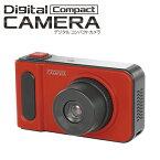 デジタルコンパクトカメラ デジタルカメラ HAC2306 1.9 インチ カラー 液晶 画面 デジカメ カメラ 本体 写真 動画 画像 音声 録画 コンパクト サイズ PC 接続 充電 USB USBケーブル usb 自撮り 撮影 送料無料
