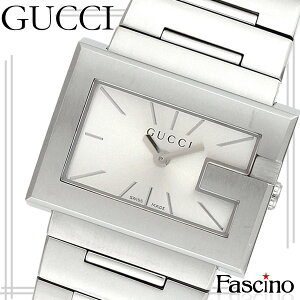 グッチGUCCIGレクタングル30mmレディース腕時計シルバーステンレススチールya100520【き】/【smtb-m】/【YDKG-m】/【LuxuryBrandSelection】