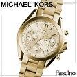 マイケルコース MICHAEL KORS Bradshaw Gold-Tone Stainless Steel Watch 36mm クロノグラフ レディース 腕時計 イエローゴールド ステンレススチール mk5798 【代引き不可】/【YDKG-m】/【Luxury Brand Selection】