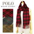 【選べる3色】ポロ ラルフローレン Polo Ralph Lauren Doubleface Tartan チェック メンズ レディース マフラー ウール×ナイロン 6f0521 【YDKG-m】/【Luxury Brand Selection】