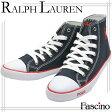 ポロ ラルフローレン Polo Ralph Lauren スニーカー ネイビー キャンバス×ラバー carsonhin ガールズ・ジュニア 【Luxury Brand Selection】