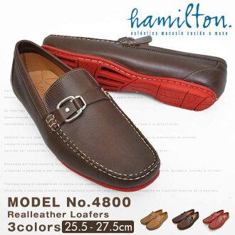 2015 漢密爾頓漢密爾頓莫卡辛鞋皮革真皮駕駛鞋運動鞋男式鞋平休閒鞋甲板鞋業務滑紳士鞋贈品