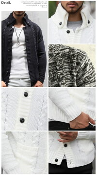 カーディガン,ニット,ニットカーディガン,ショール,ケーブル編み,ニット,メンズ,ニットジャケット,アウター,メンズファッション