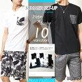 メンズファッション,セットアップ,Tシャツ,ハーフパンツ