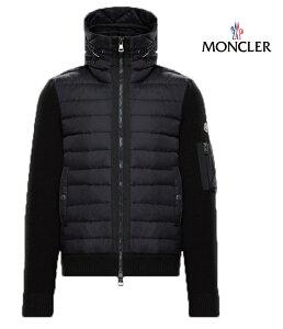 MONCLER モンクレール スウェット パーカー カーディガン メンズ ブラック 2018-2019年秋冬