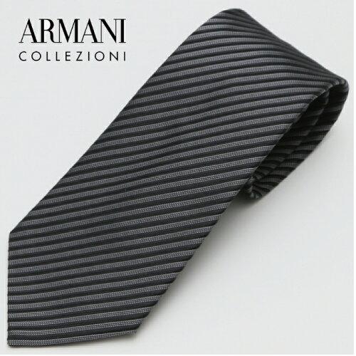 ARMANI COLLEZIONI アルマーニ・コレツィオーニ 2017年春夏GA17S-7P338-00020 ネクタイ シルク イ...