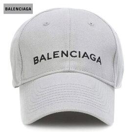 BALENCIAGAバレンシアガ2018年春夏EmbroideredcottonbaseballcapZinc/Black