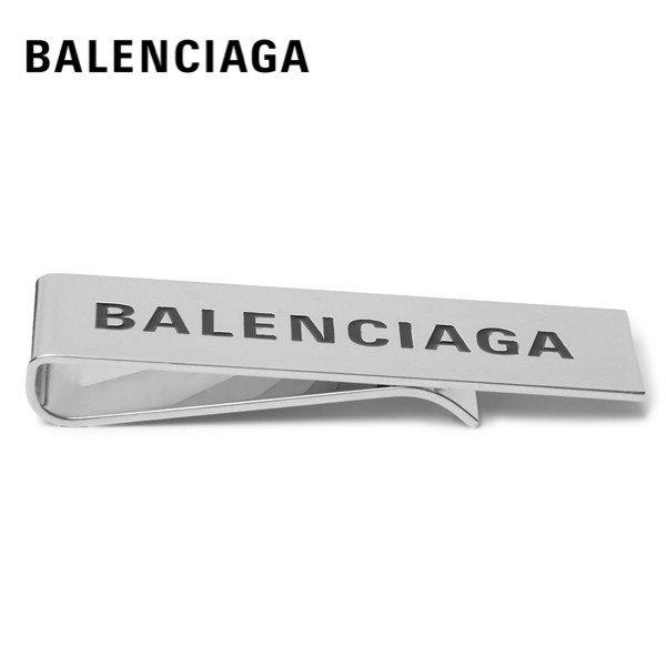 BALENCIAGA Money clip Logo Silver バレンシアガ マネークリップ ロゴ シルバー