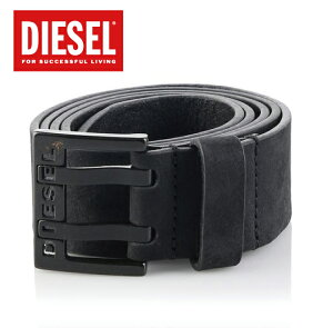 DIESEL�ǥ�������2016SS2016ǯ�ղƿ���٥��BIT�ӥåȵ�ץ쥶���?�Хå���X03714PR047BLACKLEATHER