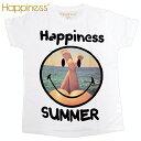 Happiness ハピネス 2015年春夏新作 ハピネスメンズ半袖Tシャツ <SMILESUMMER>