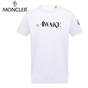 MONCLERT-SHIRTBlancWhiteMens2020SSモンクレールTシャツホワイトメンズ2020年春夏