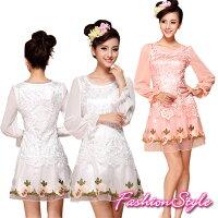 ☆133135ワンピースドレス☆,刺繍,可愛い,かわいい,ワンピース