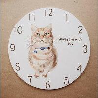 猫犬ペット壁掛け時計掛け時計オーダーオーダーメイドオリジナルかわいい木製手作りハンドメイド