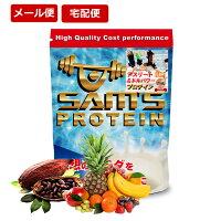 サムズ プロテイン アスリート ミドルパワー プロテイン UP 200g(約8回分) リッチココア味/ミックスフルーツ味 お試し